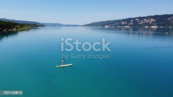 istock Sainte-Croix lake 1324100810