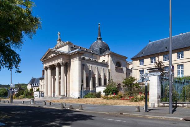 Sainte-Madeleine church of Rouen stock photo