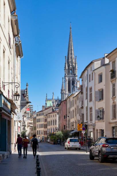 Saint-Epvre basilica of Nancy stock photo