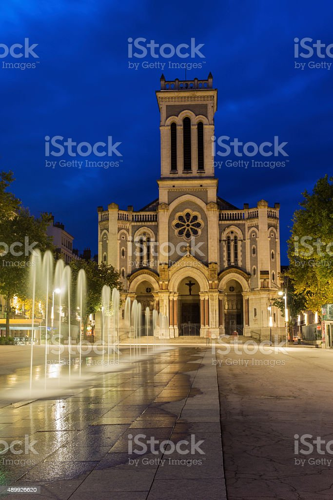 Saint-Etienne Cathedral, France stock photo