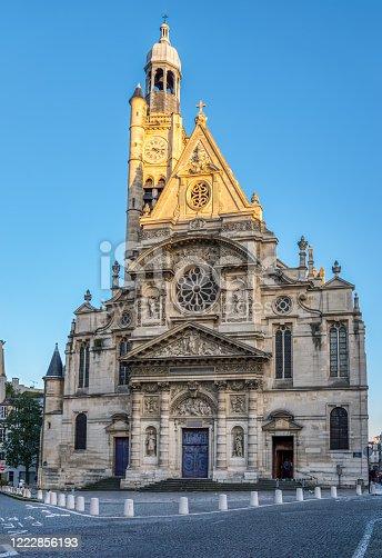 istock Saint-Etienne-du-Mont church in Paris, France 1222856193