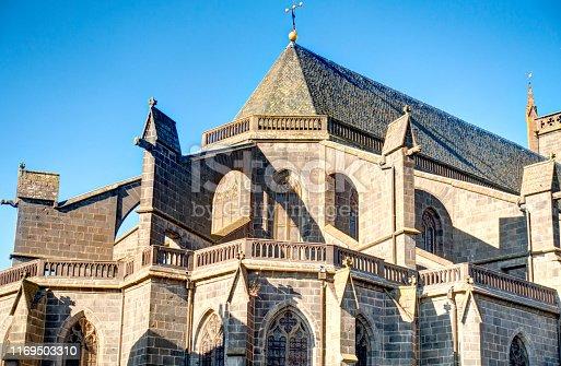 istock Saint-Flour, Cantal, France 1169503310