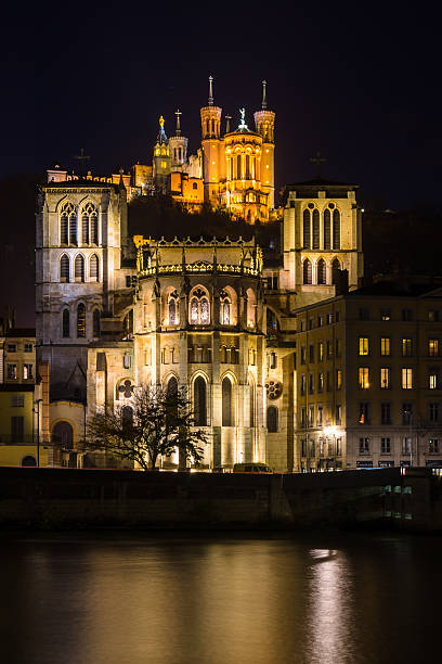 Saint-Jean-Baptiste de la cathédrale et la basilique de Fourvier - Photo