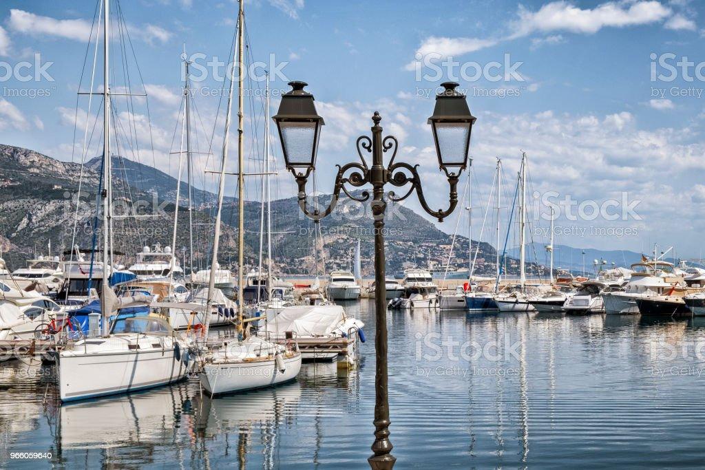 Saint-Jean-Cap-Ferrat - Royaltyfri Alpes-Maritimes Bildbanksbilder