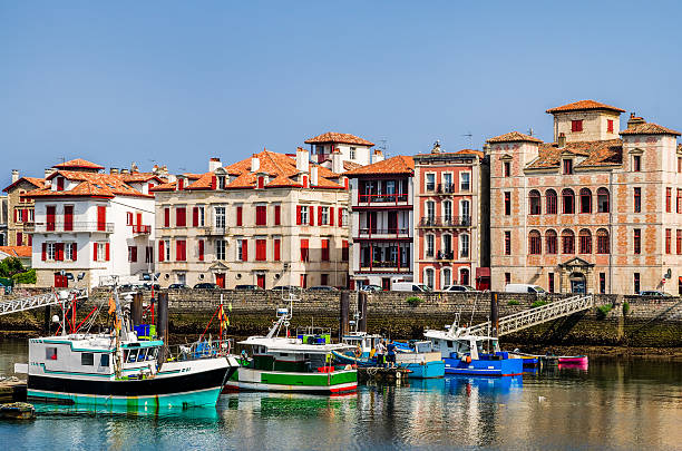 Saint-Jean-de-Luz harbour, Frankreich – Foto
