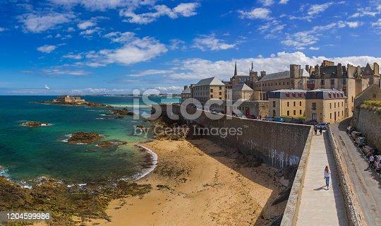 istock Saint-Malo - Brittany France 1204599986