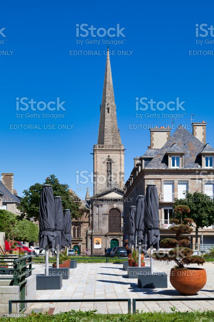 Saint-Malo Cathedral - Royalty-free Brittany - France Stock Photo