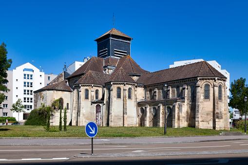 Saintmartin De Gigny Church In Saintdizier Stock Photo - Download Image Now