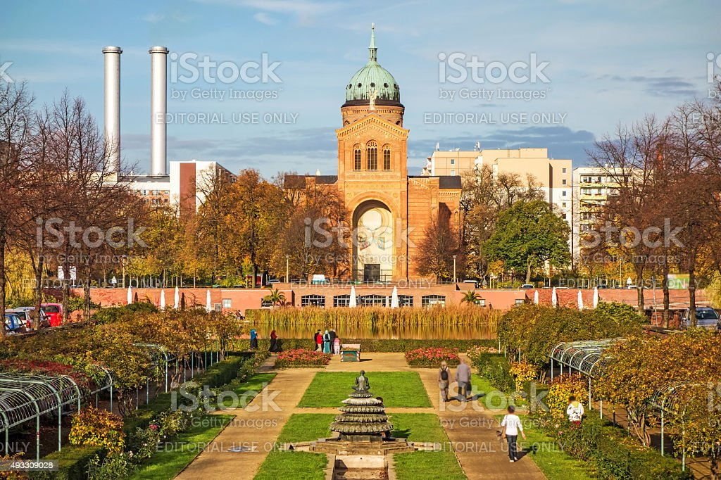 Saint-Michael-Church, Berlin stock photo