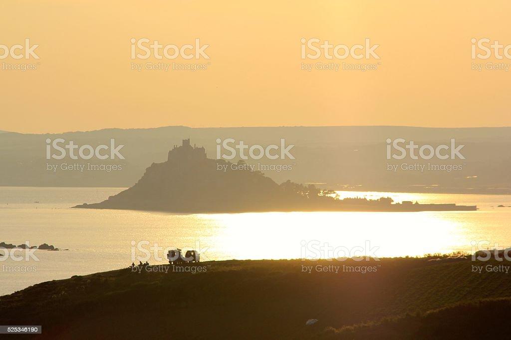 Saint-Michaels-Mount Cornwall stock photo