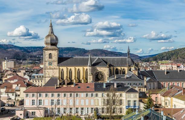 Saint-Pierre Kathedrale Remiremont in Vogesen Frankreich – Foto