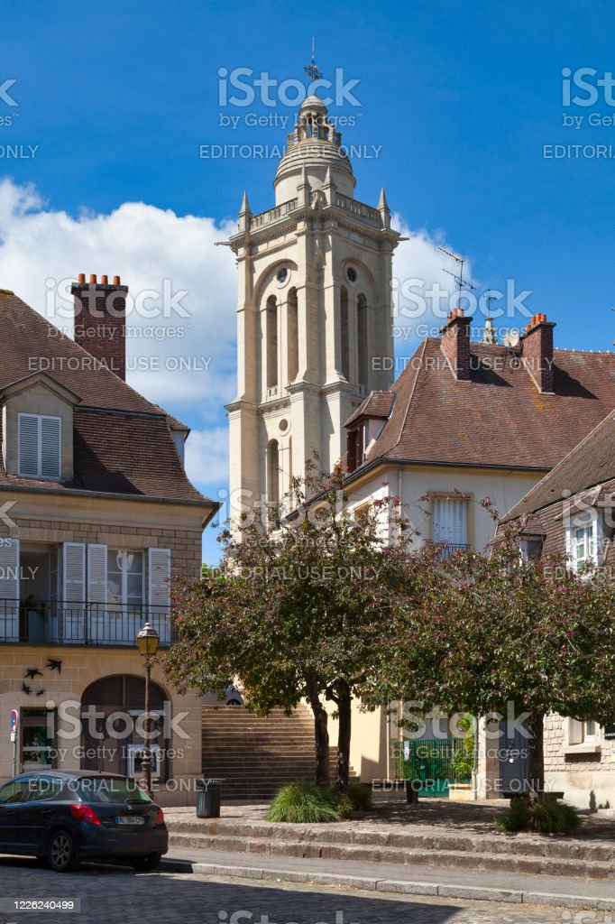 Saint-Pierre church in Senlis - Royalty-free Architecture Stock Photo