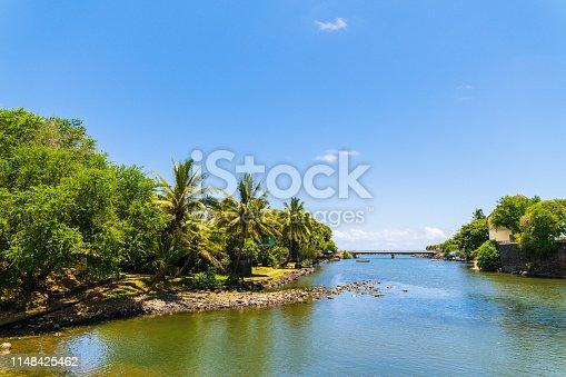 Saint-Pierre, Reunion Island, d'abord river,