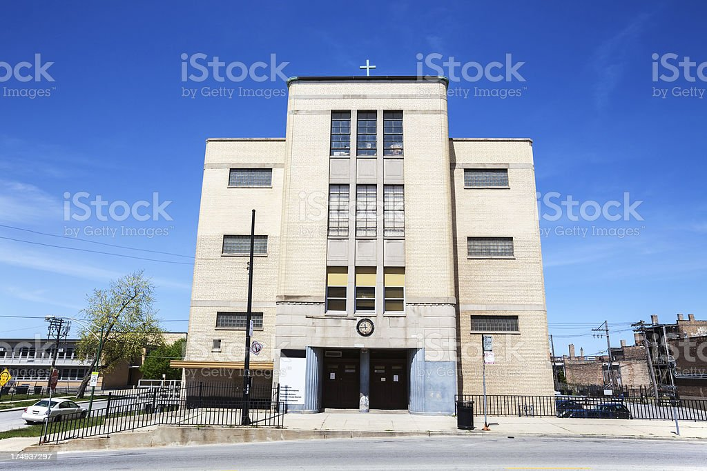 Saints Peter and Paul Church, South Chicago royalty-free stock photo