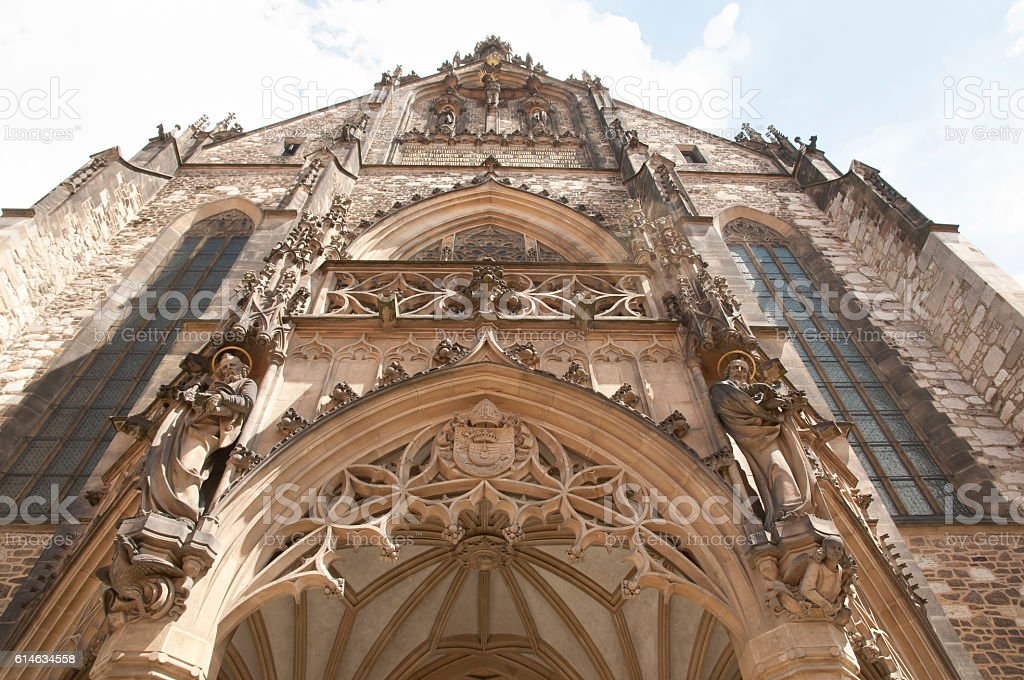 Saints Peter & Paul Cathedral - Brno - Czech Republic stock photo