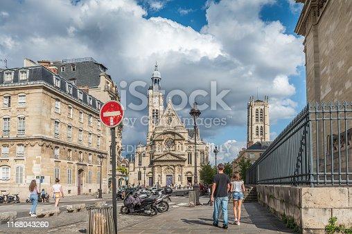 istock Saint-Étienne-du-Mont 1168043260