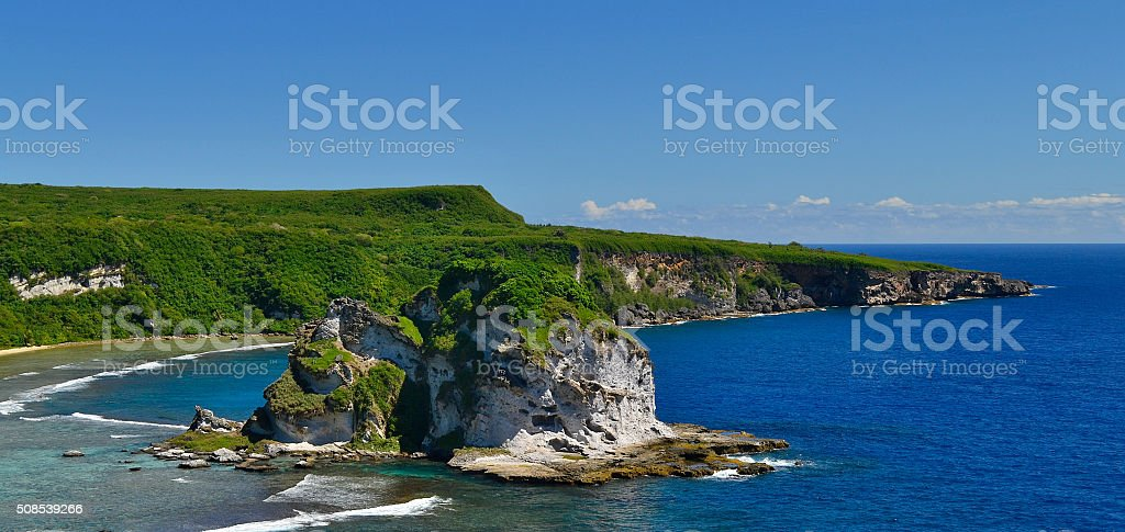 Saipan Island. Saipan. stock photo
