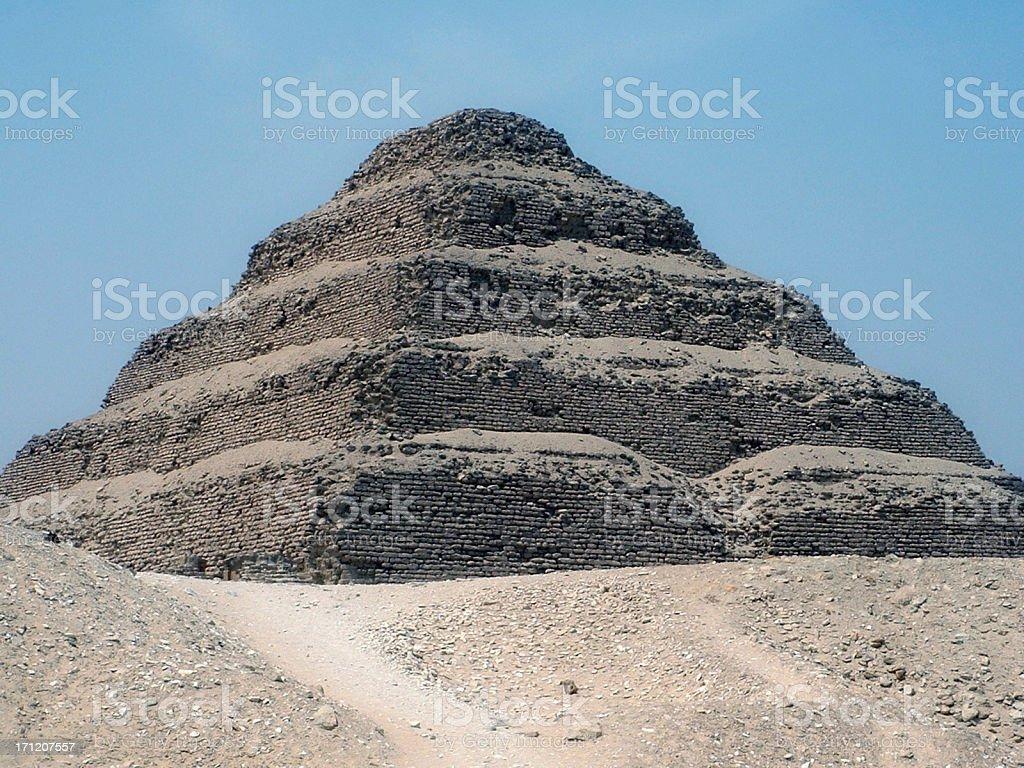 Sakara Pyramid stock photo