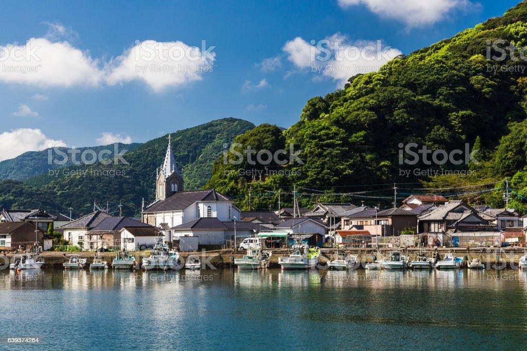 Sakitsu Church in Amakusa , Kyushu, Japan stock photo