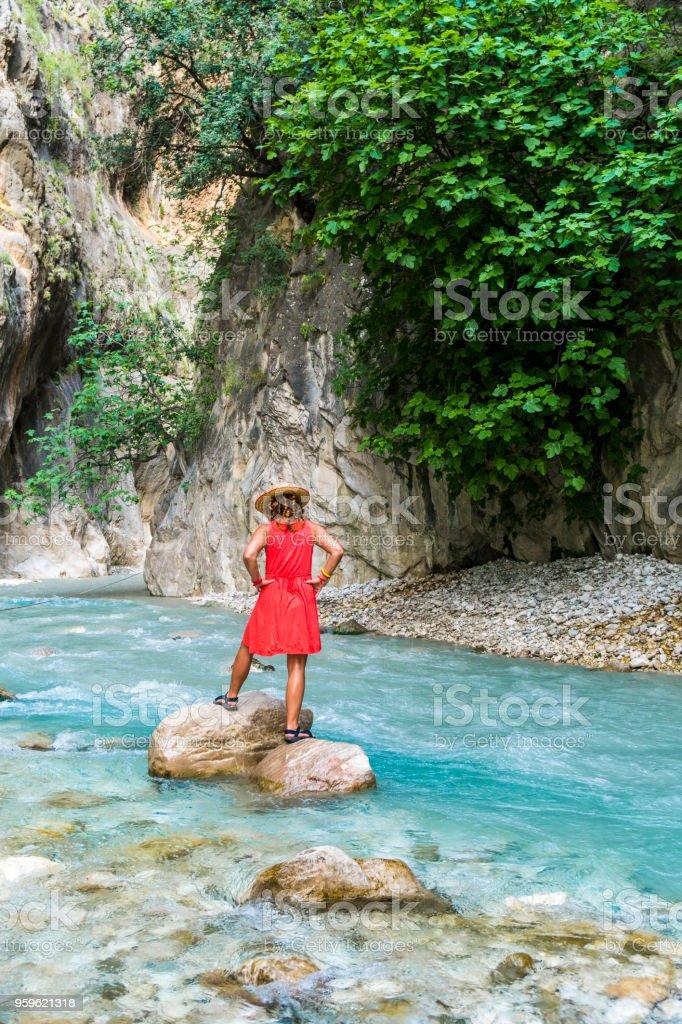 Saklikent de Fethiye / Turquía - Foto de stock de 50-54 años libre de derechos