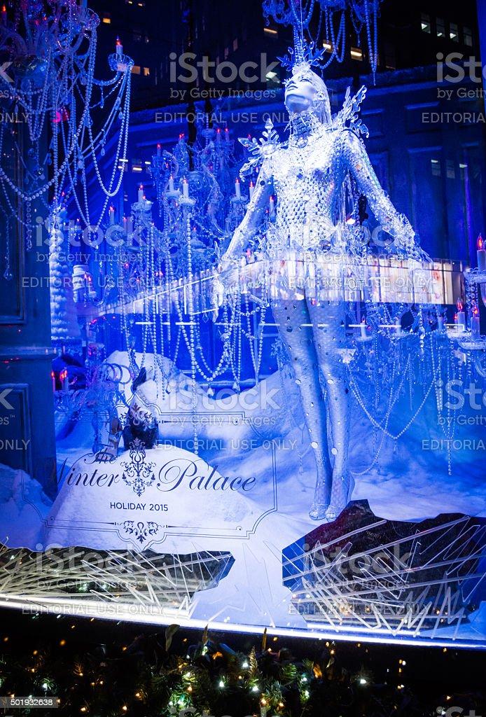 Saks Winter Palace 2 stock photo