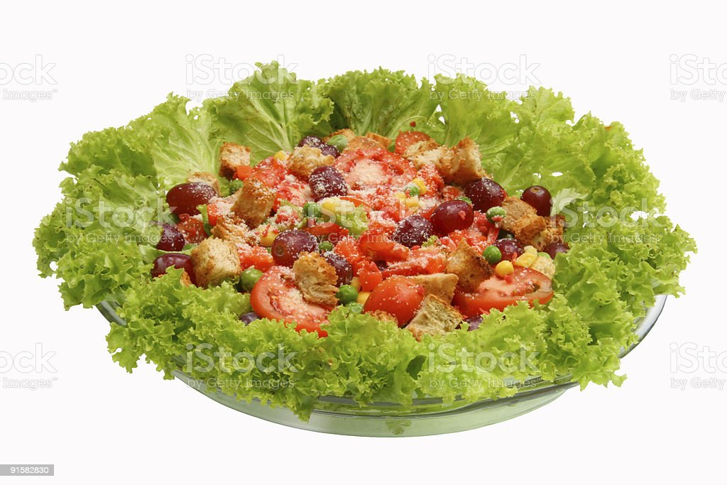 salad 3 royalty-free stock photo