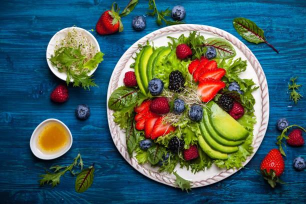 salade et apéritif - Photo