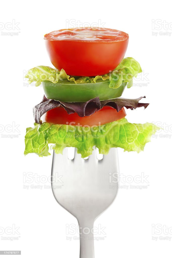 Salad appetizer royalty-free stock photo