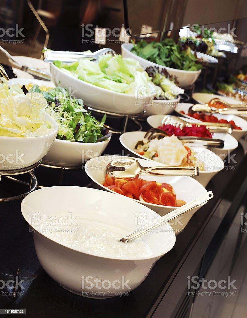 Salad Bar (Click for more) royalty-free stock photo