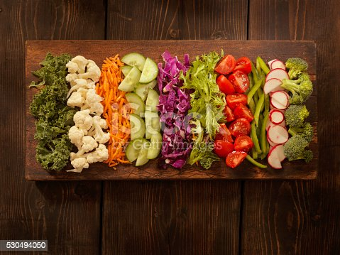 Salad Board -Photographed on Hasselblad H3D2-39mb Camera