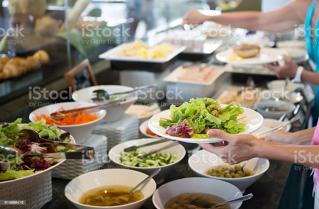 Salatbuffet – Foto