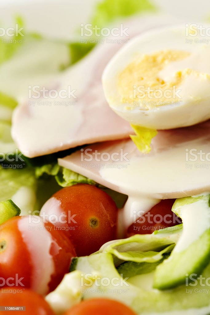 Salad Detail royalty-free stock photo