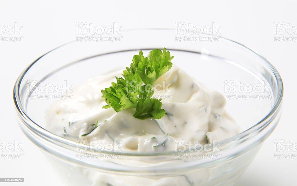 Salad Dressing stock photo