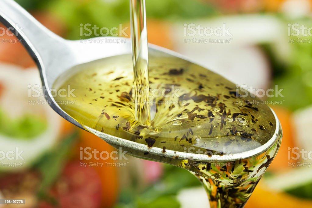 Salad Dressing. royalty-free stock photo