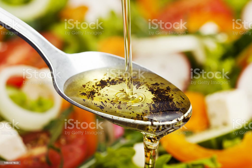 Salad Dressing. stock photo