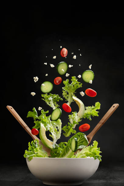 1 217 Toss Salad Stock Photos Pictures Royalty Free Images Istock
