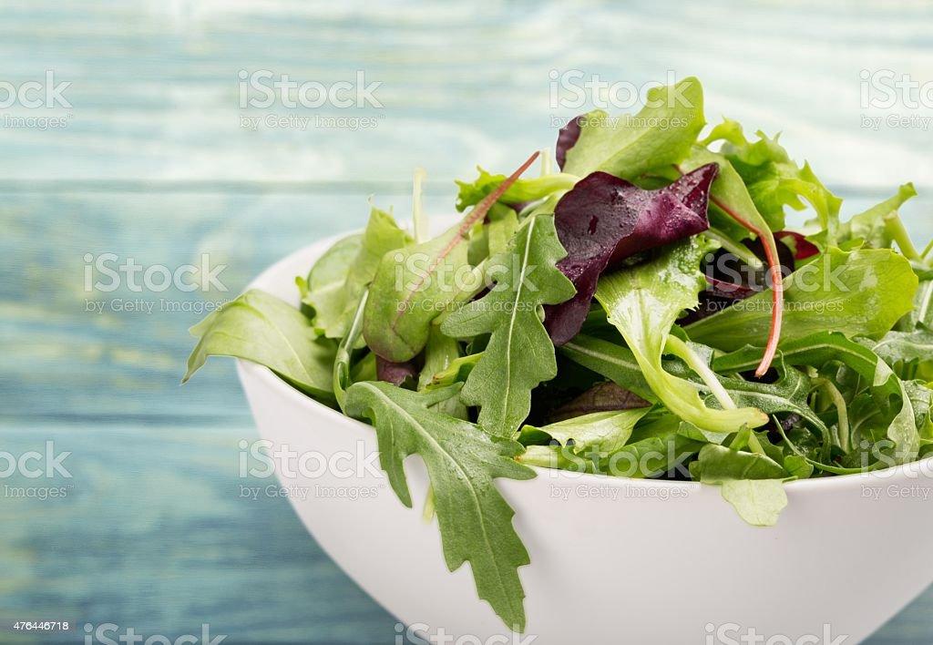 Salad, Lettuce, Leaf Vegetable stock photo