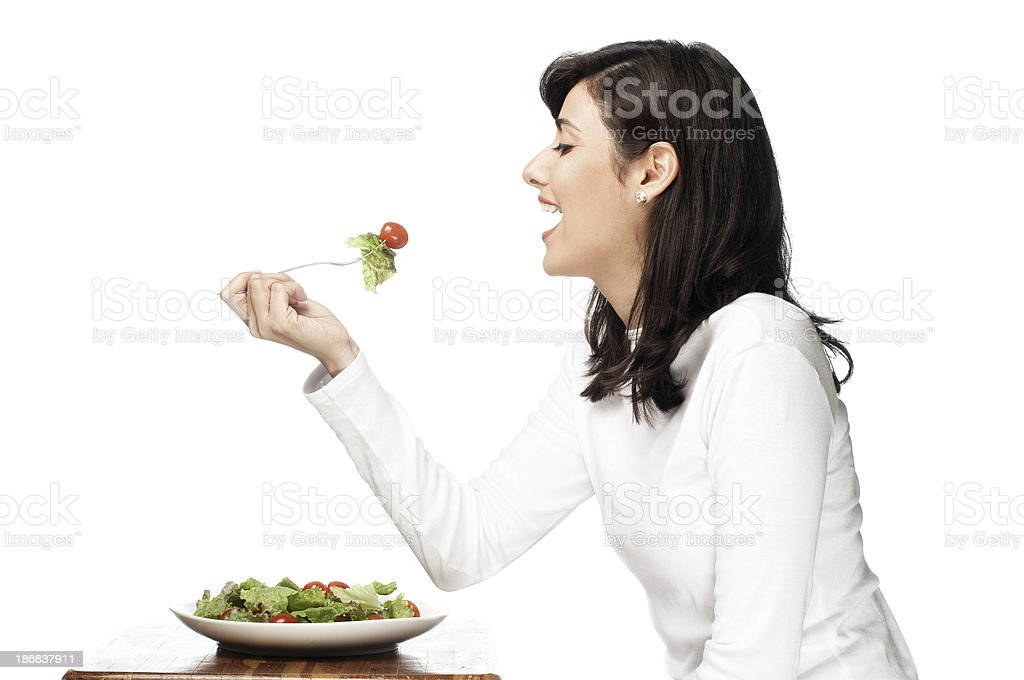Salad Lunch stock photo