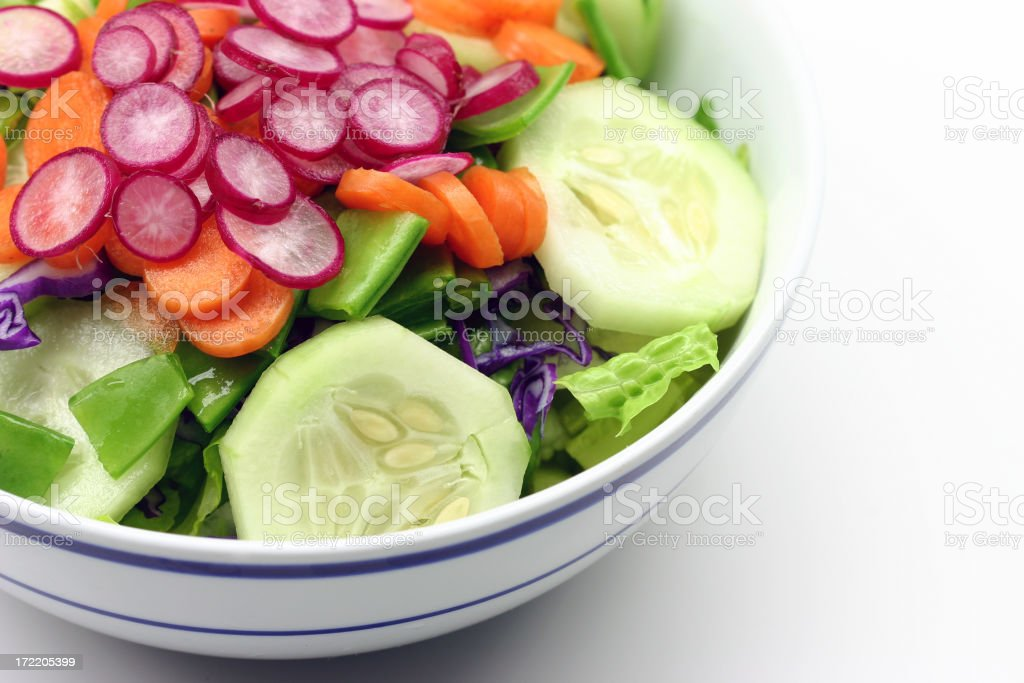 salad macro stock photo