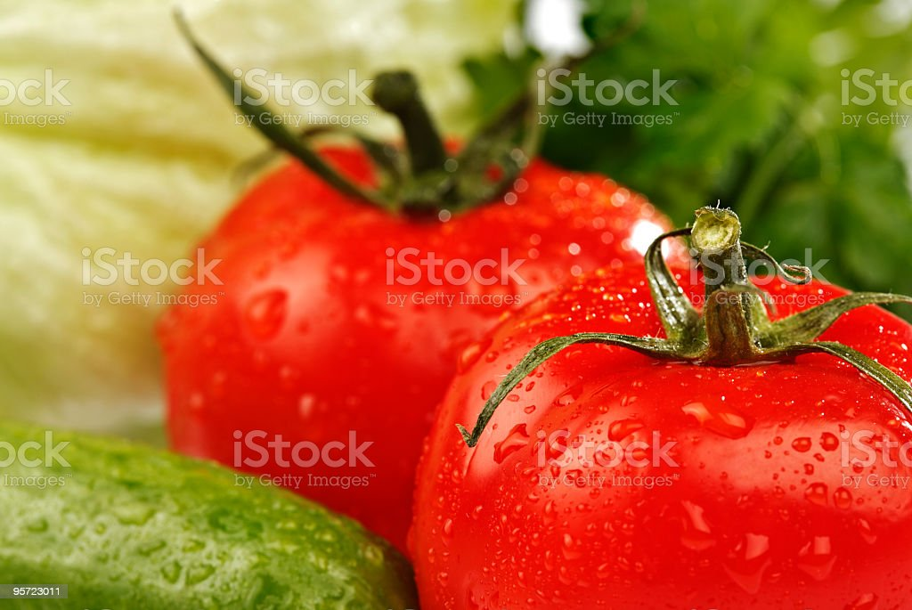 salad material royalty-free stock photo