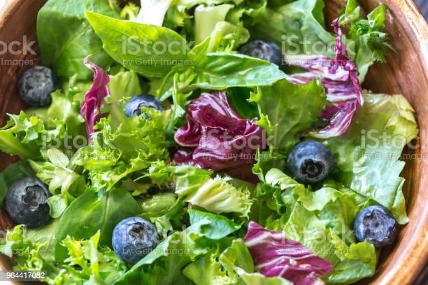 Foto de Mistura De Salada Fechar e mais fotos de stock de Alface