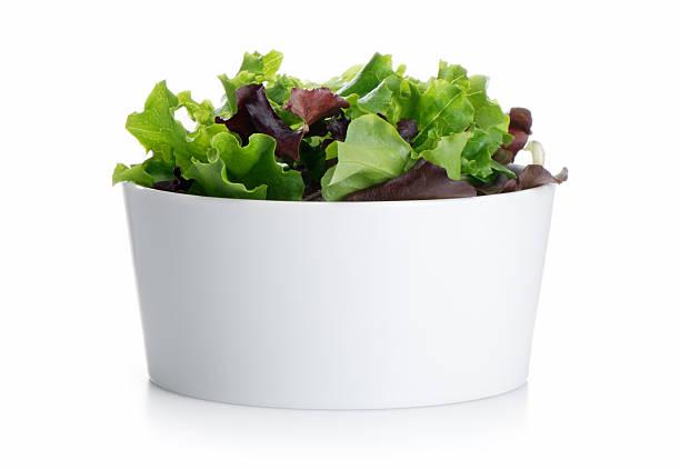 mélange de salade - saladier photos et images de collection