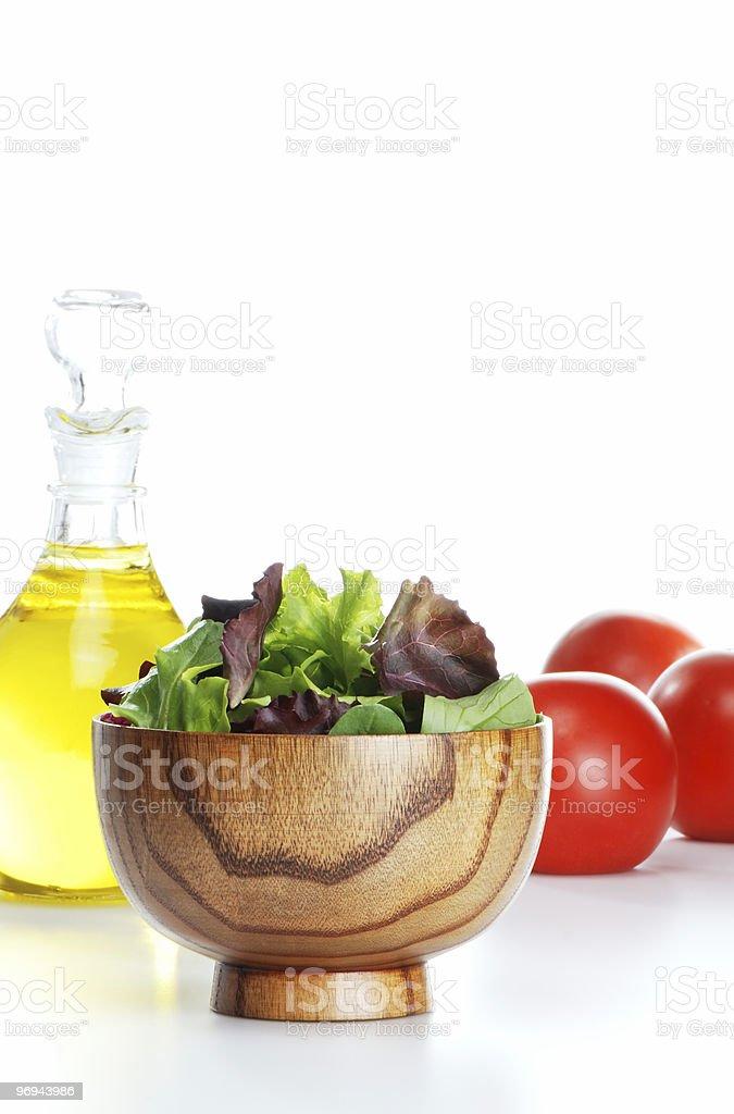 Salad mix royalty-free stock photo