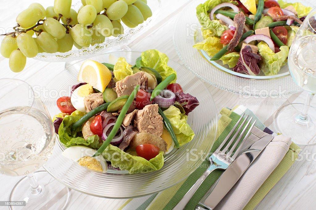Salad Nicoise royalty-free stock photo