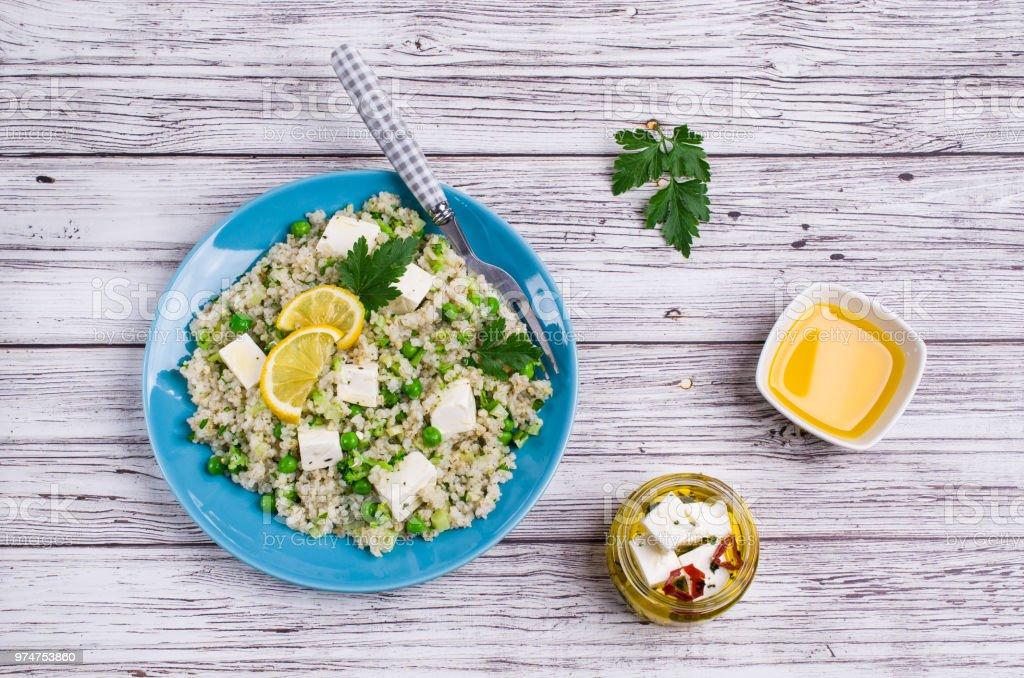 Salade de céréales concassées - Photo