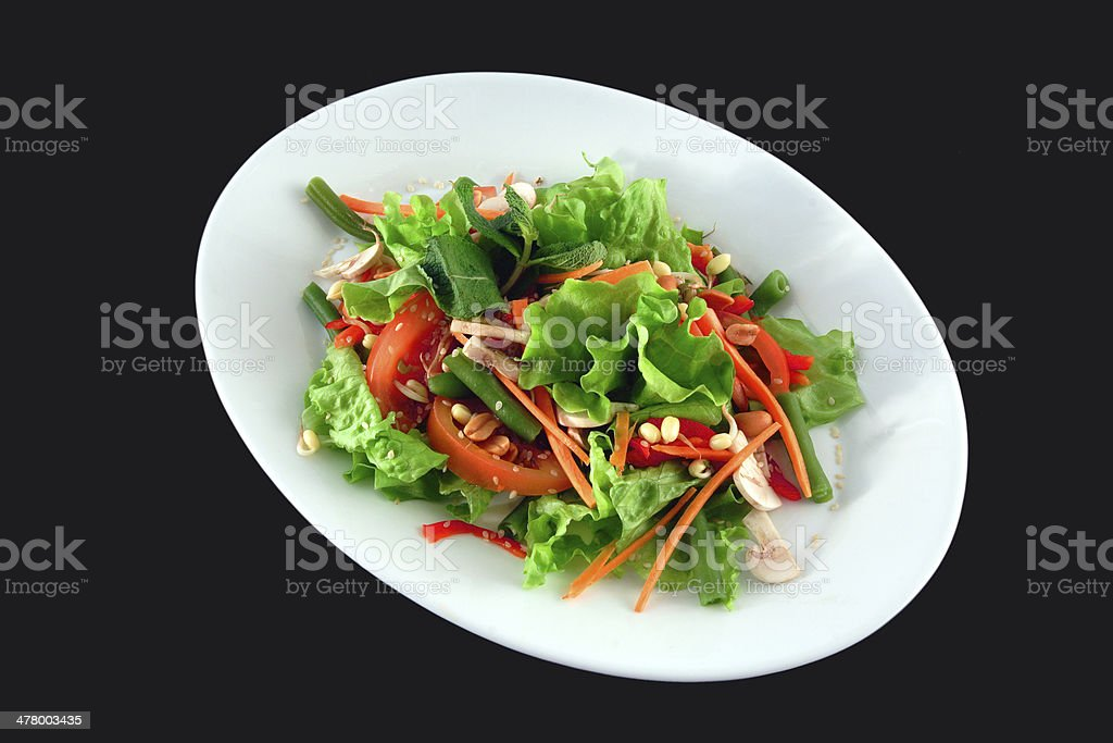 salad of green stock photo