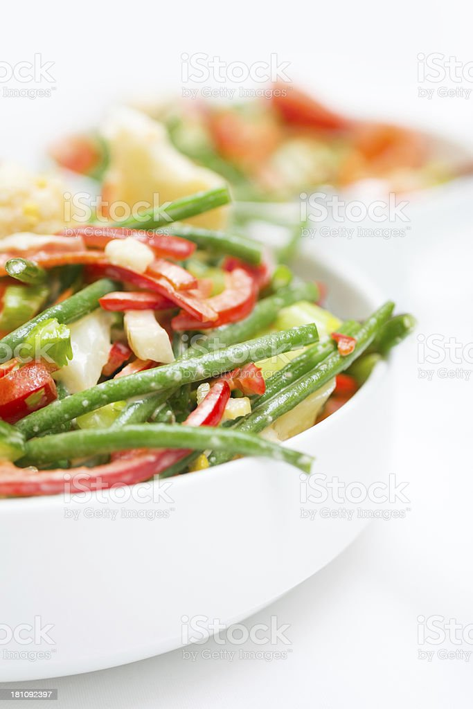 Salad on Buffet stock photo