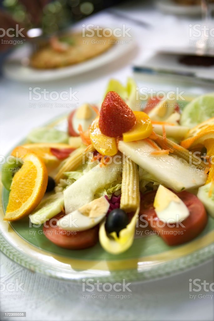 Ensalada royalty-free stock photo