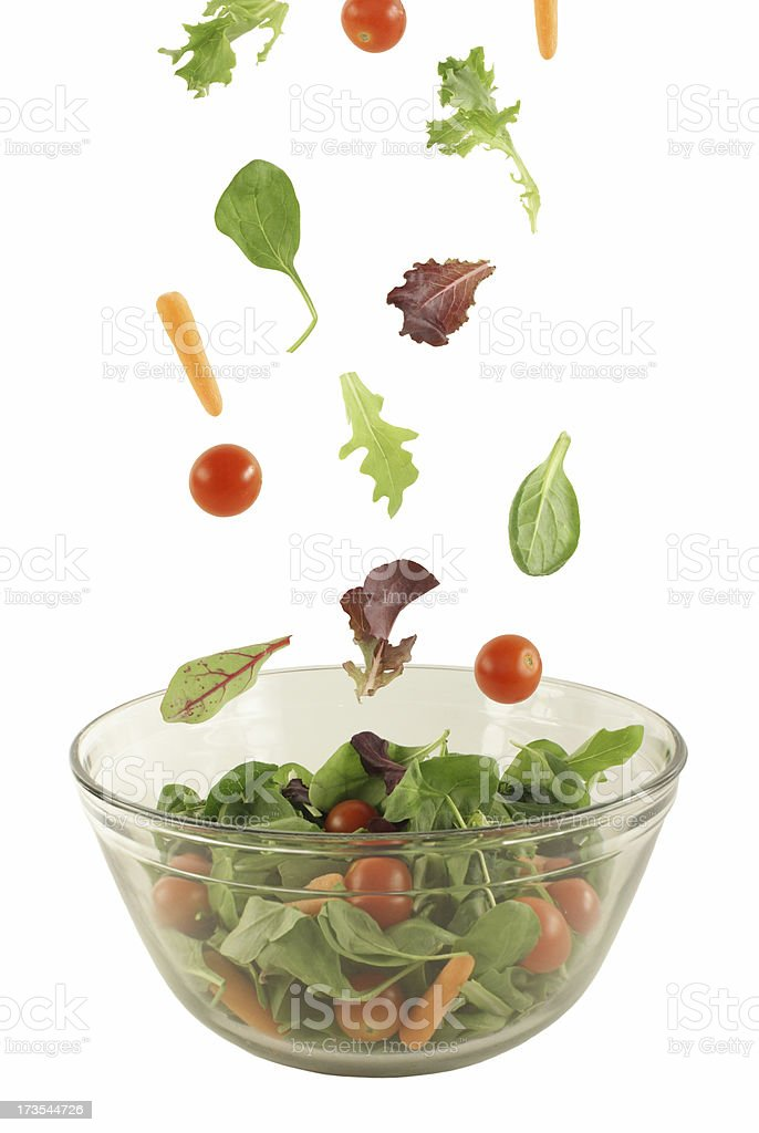 Salad! stock photo