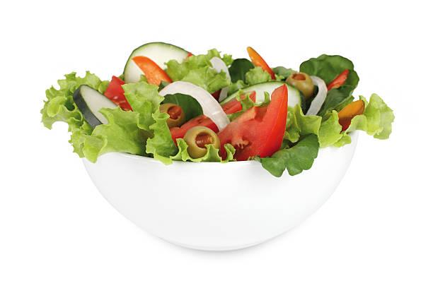 salade composée - saladier photos et images de collection